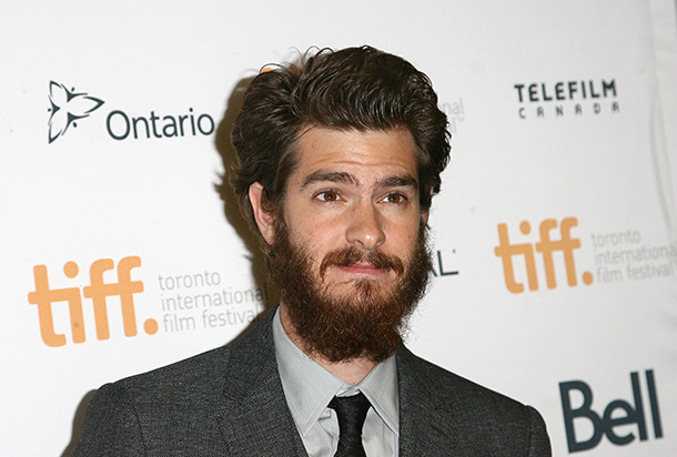 Andrew Garfield, leading actor in 99 Homes, beard and all - Source: Tommaso Boddi/Getty Images