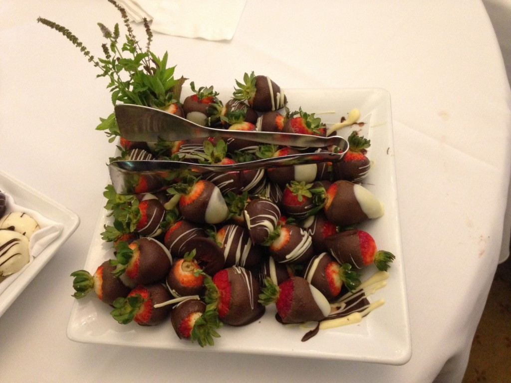 Divine chocolate-covered fresh strawberries
