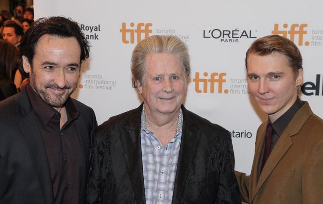 John Cusack, Brian Wilson of The Beach Boys, & John Dano - Source: Toronto Life Magazine -Image: Giordano Ciampini