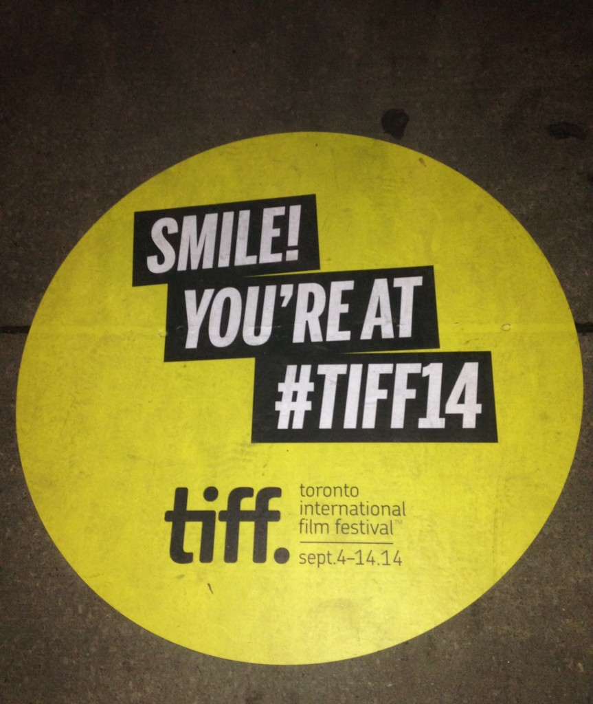 Welcome to #TIFF14 - Toronto International Film Festival!