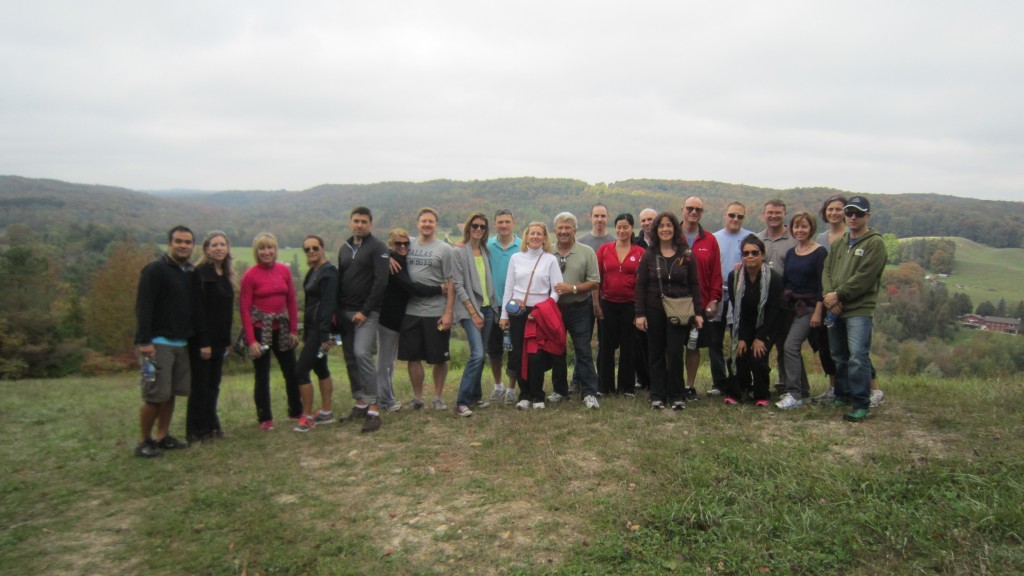The HighVail team at Hockley Valley Resort for our first company retreat - September 2013