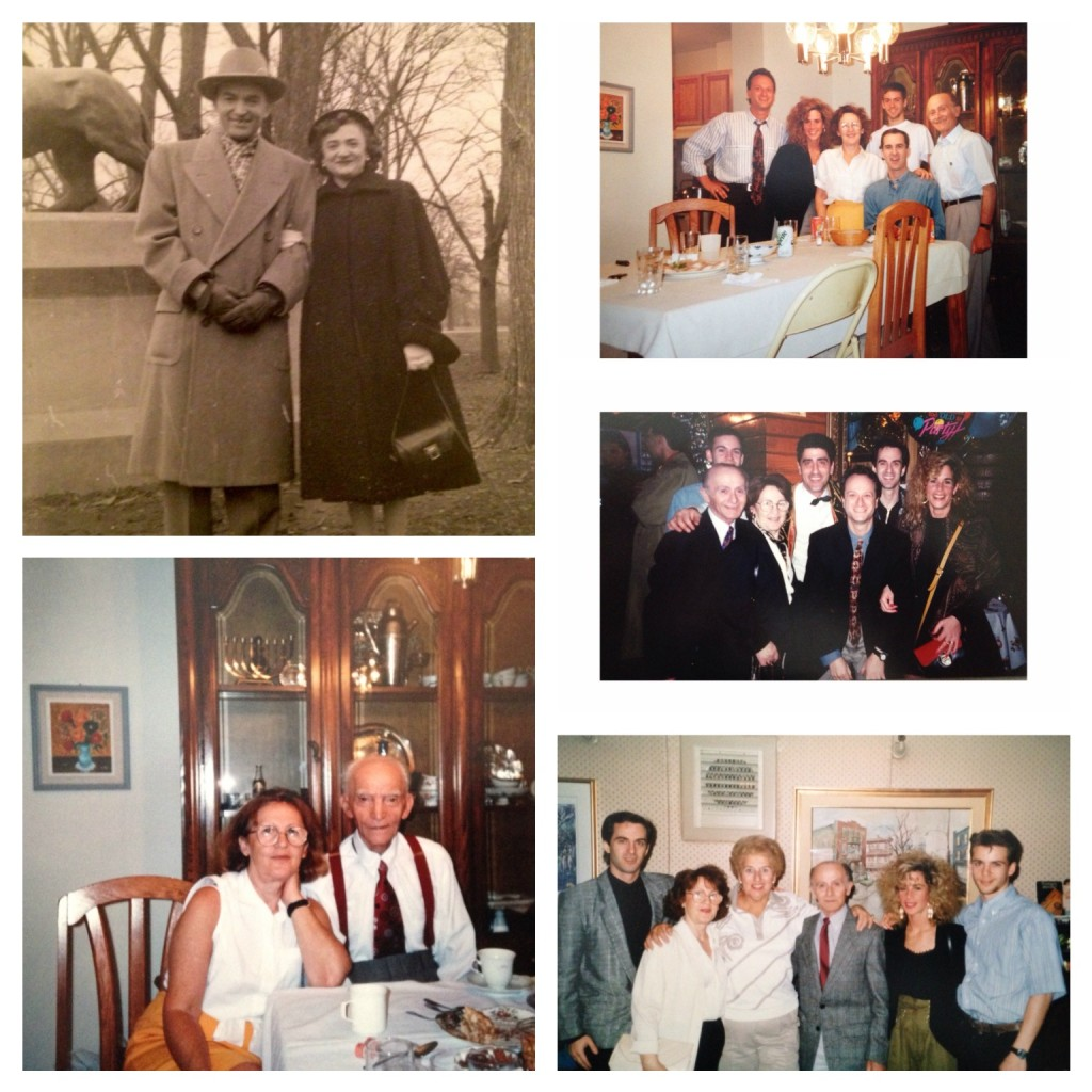 Warm & cherished memories of some of our family's great times in the past. The upper-lefthand photo is an older one of our Uncle Aaron & Aunt Sophie. The rest, although not dating all the way back to our childhood, and not necessarily on Passover, are of our family (pre our children, Jory & Adina) having wonderful times. We always had/have the best of times when we're together with our core and all our extended family members on all sides. We're one lucky bunch!