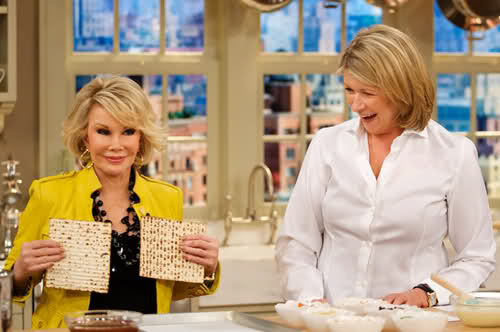Joan Rivers on The Martha Stewart Show