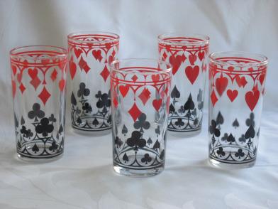 The Schwartz's mustard jar drinking glasses!