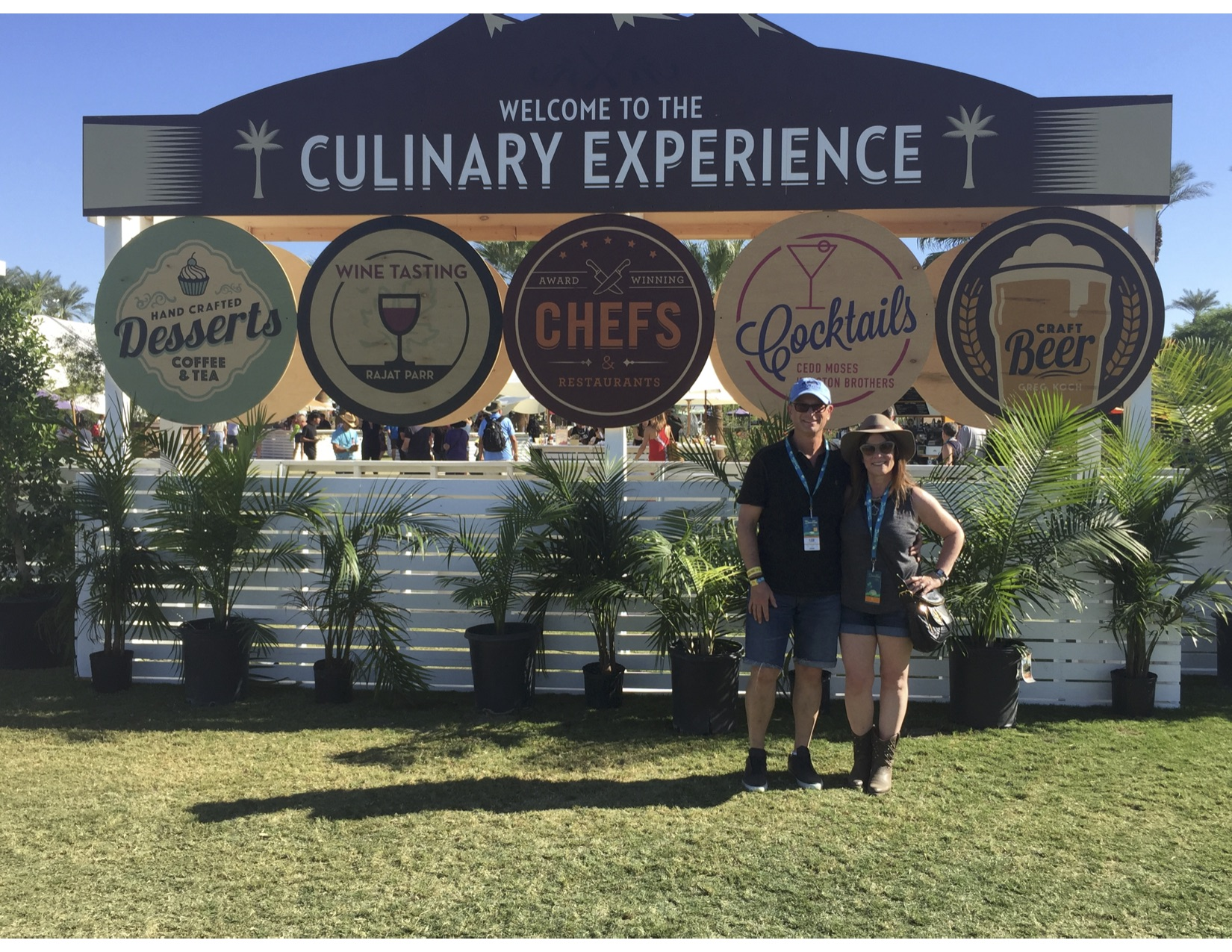 THE CULINARY EXPERIENCE! All the food you can eat; drinks you could consume; and fun, fun, fun every second of the day! Pure unadulterated DECADENCE!